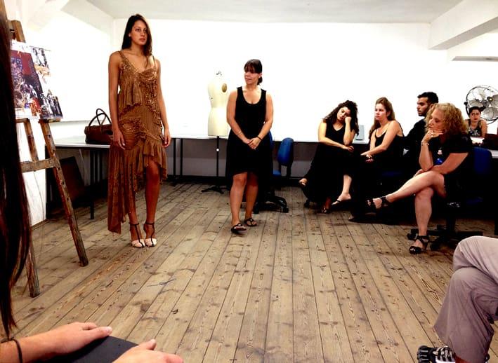 לימודי עיצוב אופנה-תערוכת לימודי אופנה במסגרת הלימודים