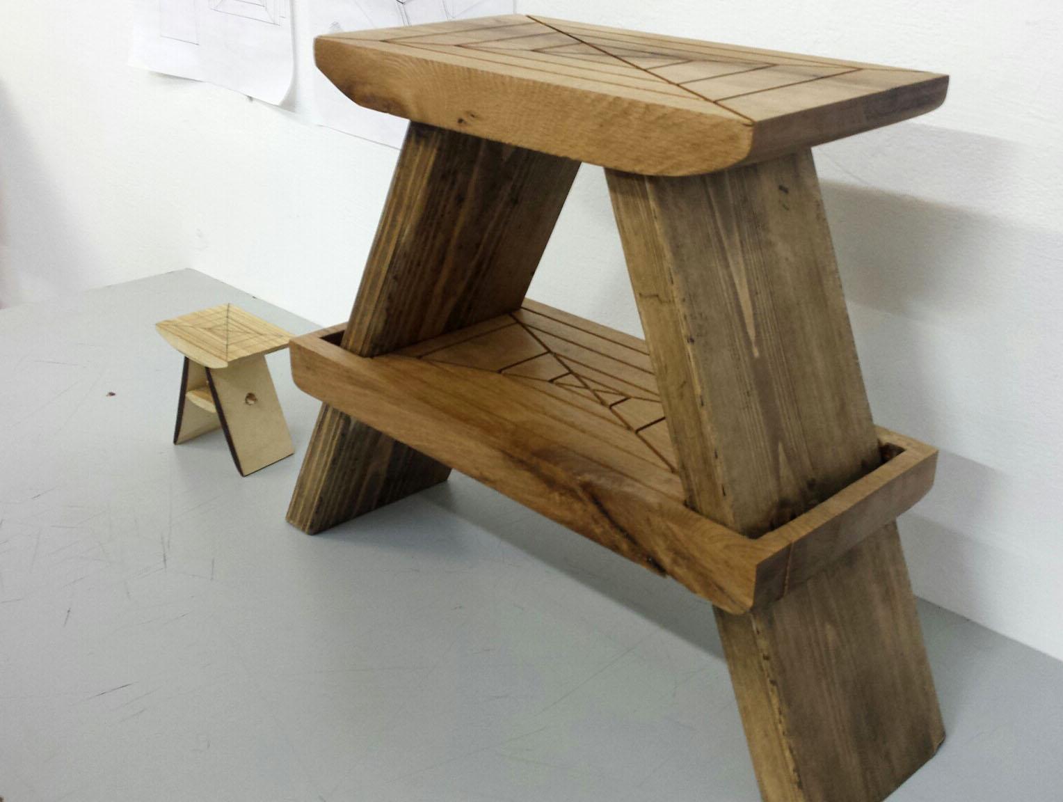 תכנית המייקרים - פרויקט ספסלים