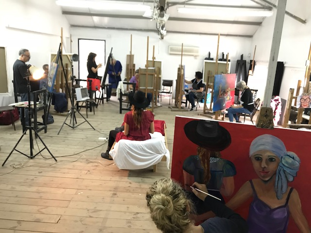 לימודי רישום וציור במכון אבני