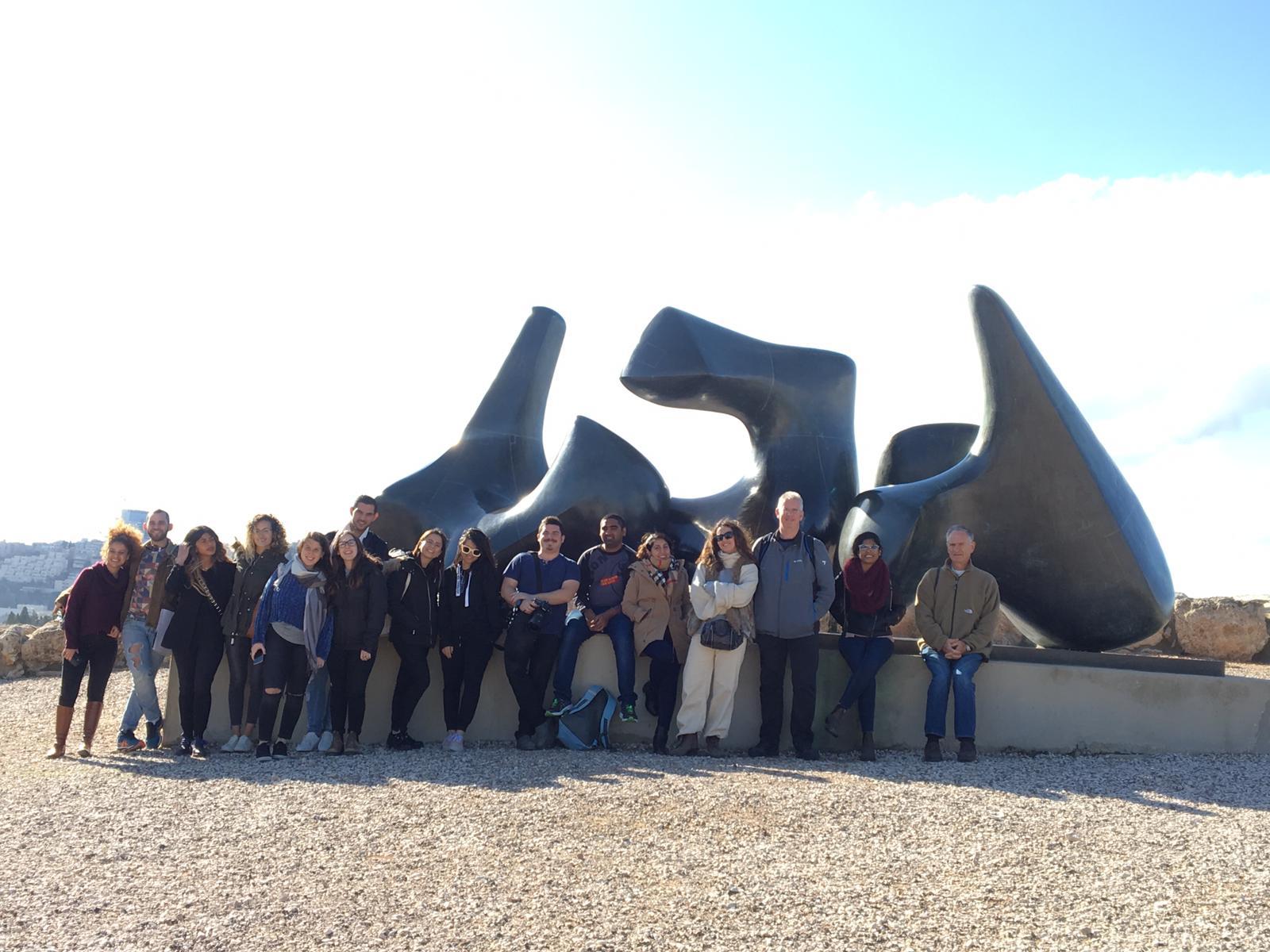סיור סטודנטים לתולדות האמנות במוזיאון ישראל