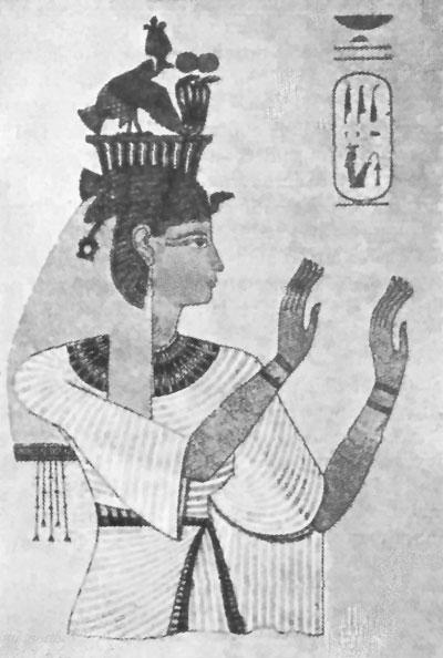 תמונת אמנות מצרית