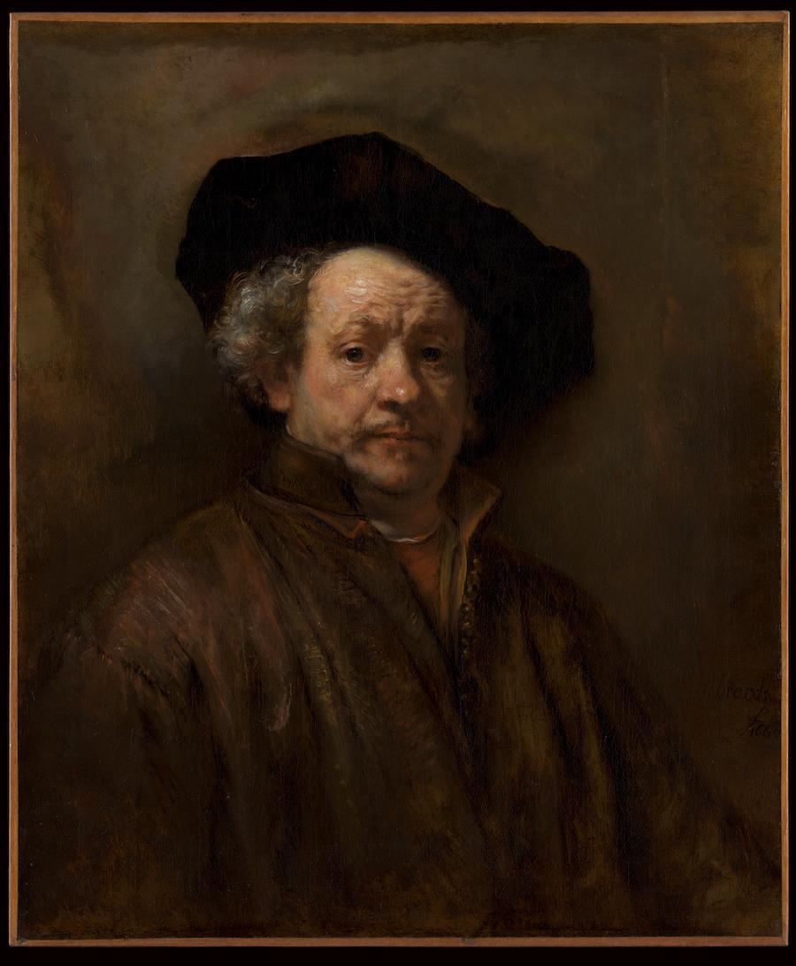 תמונת אמנות של איש עם כובע שחור