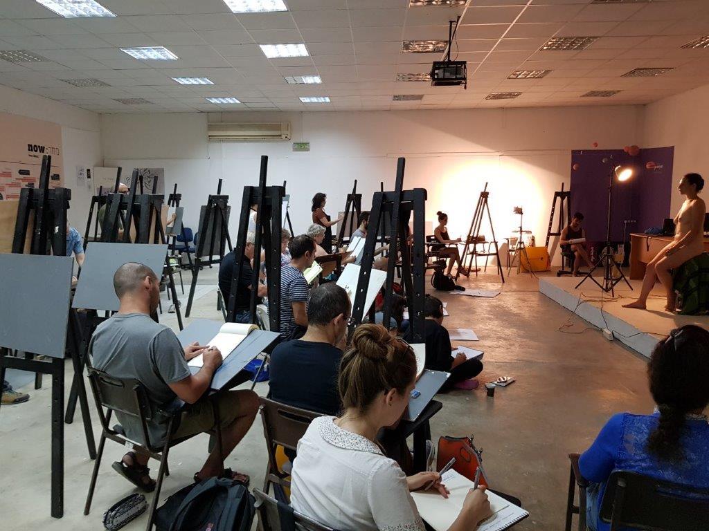 מתכונת לימודי אמנות - לימודים מעשיים